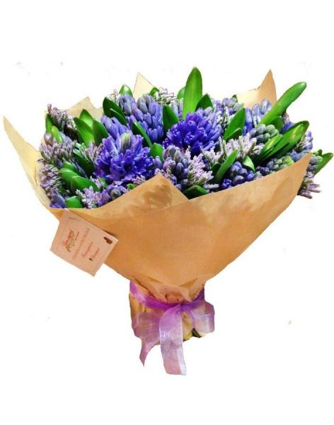 Bouquet of 51 hyacinths: delivery of flowers in