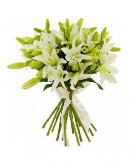 Bouquet of 25 lilies | Flowers to mother flowers