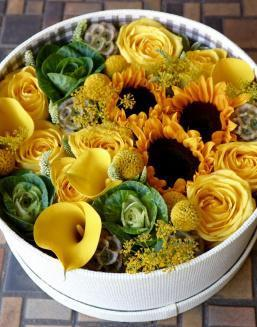 Yellow Heaven | Flowers for Housewarming