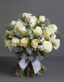 Chic white bouquet | Flowers to mother flowers