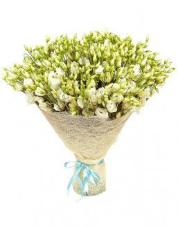 Bouquet of eustoma 51 pieces | Flowers to beloved