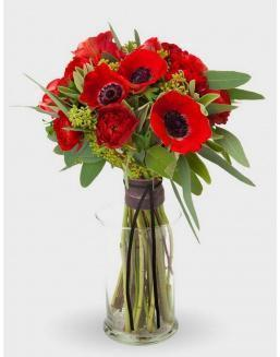 Bouquet of 15 poppies | Flowers on International Women's Day flowers