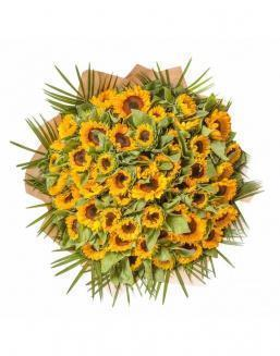 Bouquet of 51 sunflowers | Flowers to mother flowers