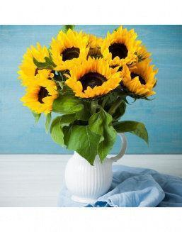 Mini-bouquet of sunflowers | Flowers for Holiday flowers