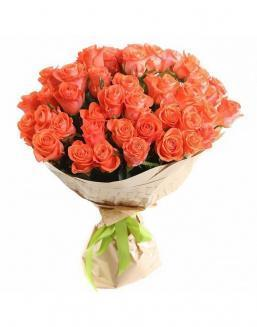Bouquet of 51 carrot roses | Flowers to mother flowers