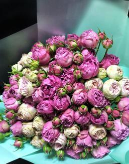 Bouquet of 15 pink spray roses | Flowers to mother flowers