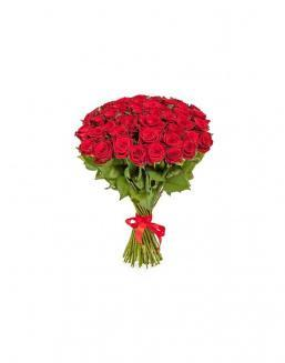 Bouquet of 51 red roses | Roses flowers
