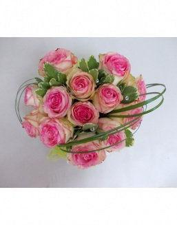 Gift Tenderness set of pink roses | Pink roses flowers