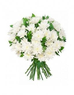 Bouquet of 15 chrysanthemums | Flowers flowers