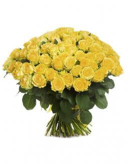 Bouquet of 101 yellow holland roses | Flowers to mother flowers