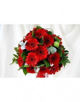 Bouquet of 101 red gerberas | 101 flowers flowers