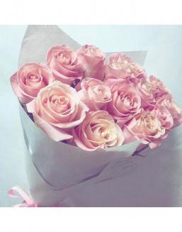 Bouquet of pink roses | Flowers to mother flowers