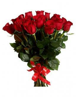 21 long red roses deluxe | Flowers to mother flowers