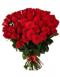 33 long red roses deluxe | Flowers to mother flowers