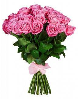 33 high elite pink roses | Flowers to mother flowers