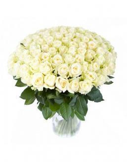 77 high elite white roses | Flowers to mother flowers