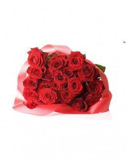 Bouquet of 21 red roses | Flowers to friend for Birthday