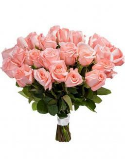 Bouquet of 33 pink roses | Flowers for Birthday flowers
