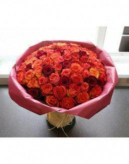Love flame | Roses flowers